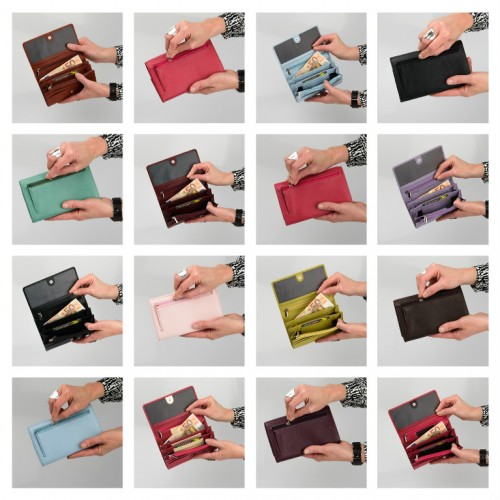 New colours in our bestselling Ladies Wallet!