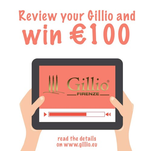 Gillio Review Competition: final winner!