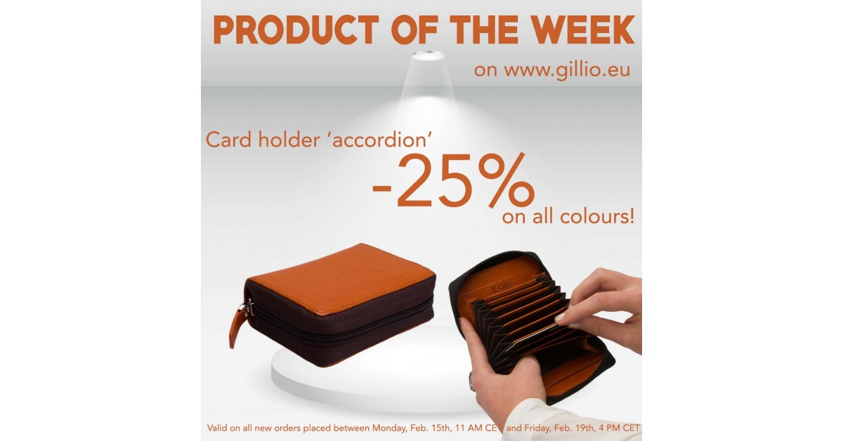 Product of the week #4   Promotions   Blog   Gillio
