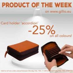 1584 Card Holder Accordion