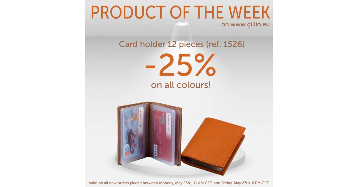 Product of the week #14   Promoties   Blog   Gillio