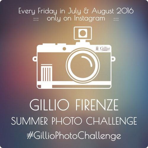 Gillio Summer Photo Challenge on Instagram!