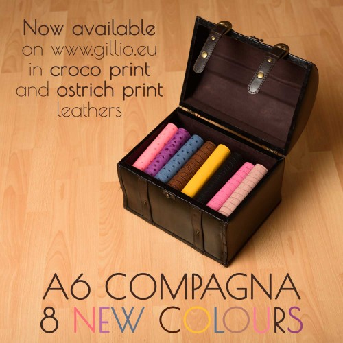 New colours in our A6 Compagnas!