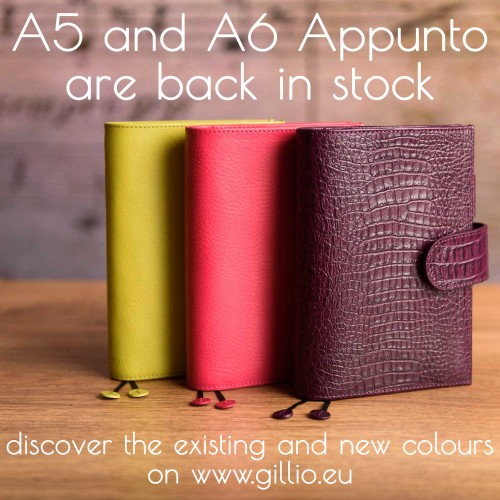 Stock update: A6 and A5 Appuntos!