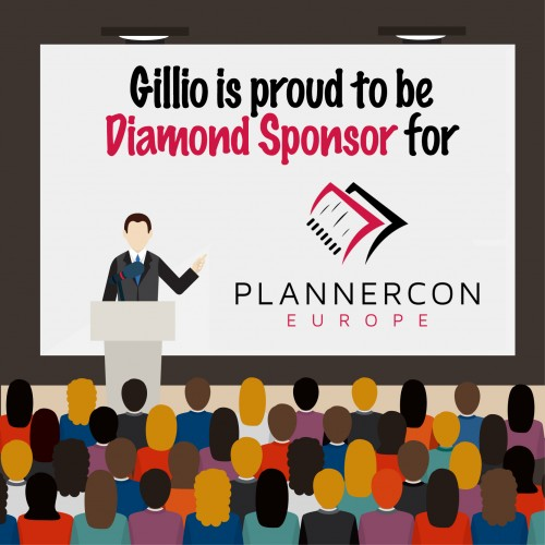 Visit Gillio at PlannerCon Europe!