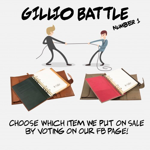 Gillio Battle nr 1: you choose what goes on sale!