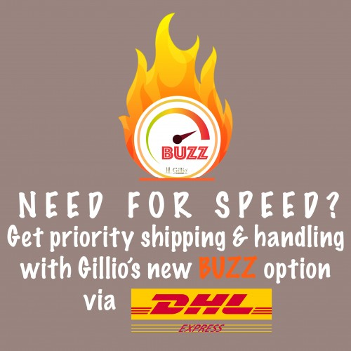 Need for speed? Choose Gillio BUZZ!