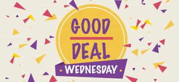 Website Good Deal Wednesday