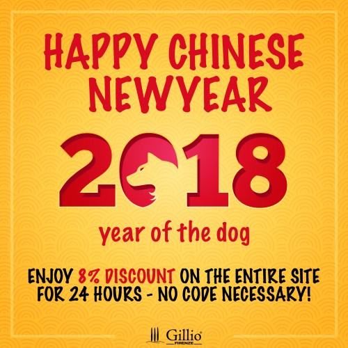 Happy Chinese Newyear! -8% discount sitewide