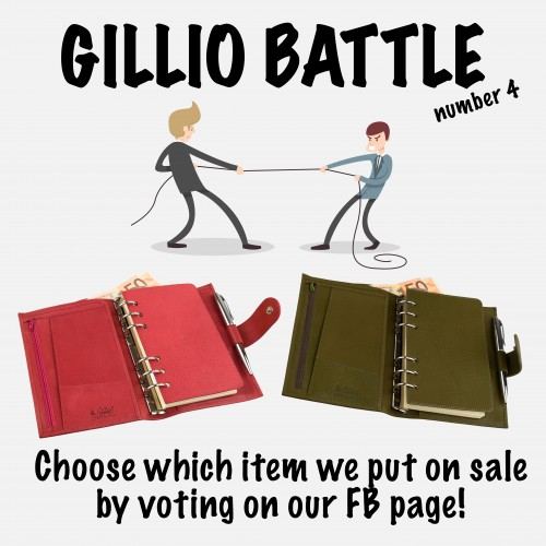 Gillio Battle nr 4: you choose what goes on sale!