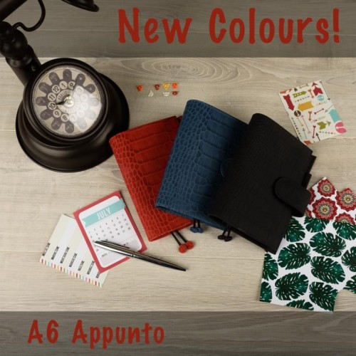 Restock  new colours: A6 Appunto