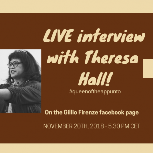 Live interview with Theresa Hall
