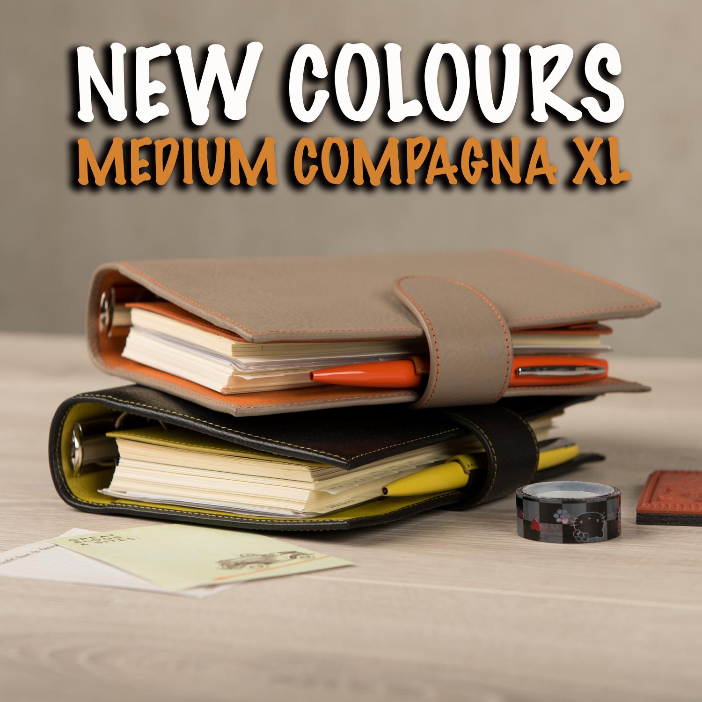 Medium Compagna XL: new colours!