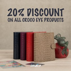 IG discount croco eye