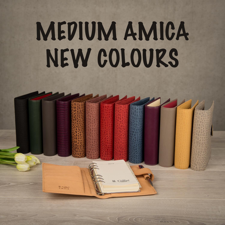 NEW COLOURS: medium Amicas!