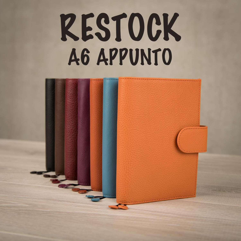 APPUNTO A6 restock! | New releases & stock updates | Blog | Gillio