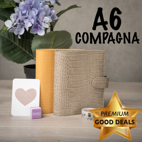 PGDC restock: A6 Compagna in 2 colours!