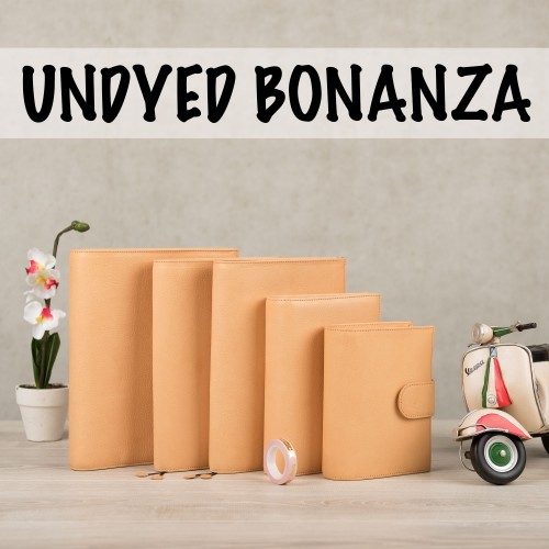 Undyed Bonanza, part one + more releases!