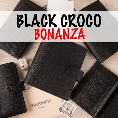 Black Croco Bonanza!