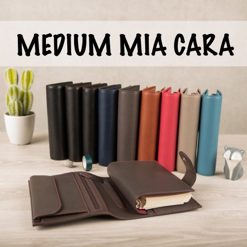 Medium Mia Cara restock + A5 Appunto black!
