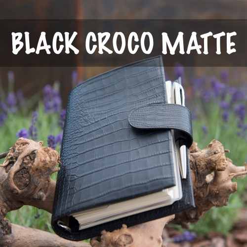 BIG RESTOCK: Medium Compagna, Pocket Compagna XL, Croco Black Matte!