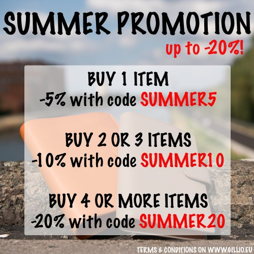 Summer promotion: grab your discounts!