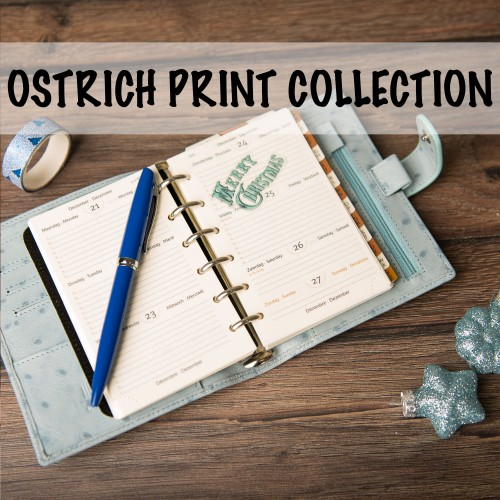 RESTOCK: the Ostrich Print Collection